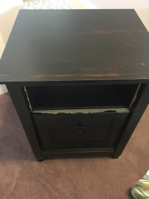 Side table before