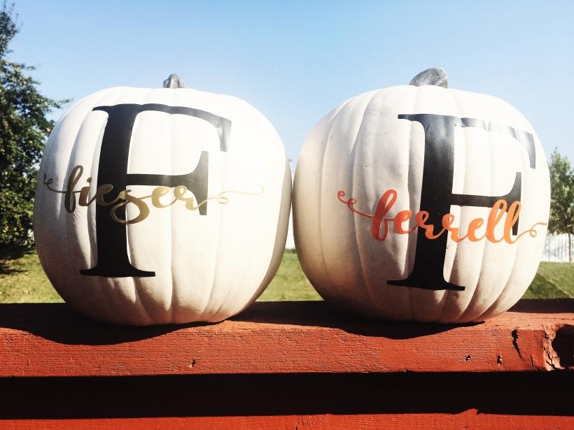 Fall Silhouette Cameo pumpkin decor