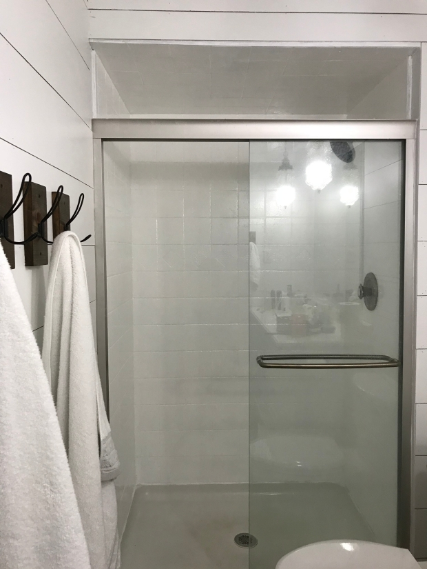 shower after transformation