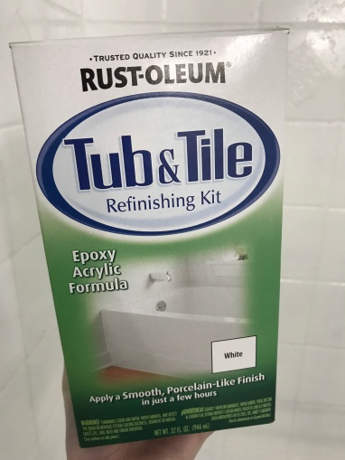 Rust-Oleum Tub and Tile Refinishing Kit